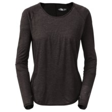 The North Face Mirabelle Shirt - Long Sleeve (For Women) in Charcoal Grey Heather - Closeouts