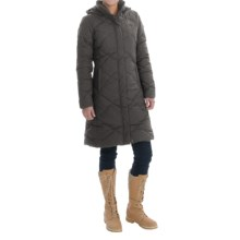 The North Face Miss Metro Down Parka - 550 Fill Power (For Women) in Graphite Grey Heather - Closeouts