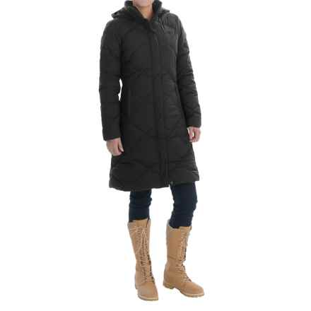 The North Face Miss Metro Down Parka - 550 Fill Power (For Women) in Tnf Black/Tnf Black - Closeouts