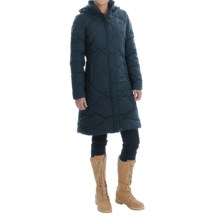 The North Face Miss Metro Down Parka - 550 Fill Power (For Women) in Urban Navy/Urban Navy - Closeouts