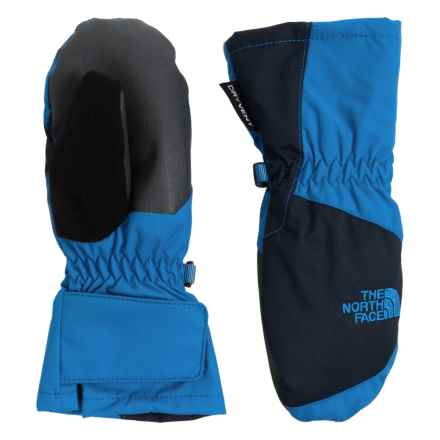 The North Face Mittens - Waterproof, Insulated (For Toddlers) in Jake Blue/Cosmic Blue - Closeouts