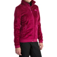 The North Face Mod-Osito Fleece Jacket (For Women) in Dramatic Plum/Dramatic Plum - Closeouts