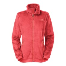The North Face Mod-Osito Fleece Jacket (For Women) in Melon Red/Melon Red - Closeouts