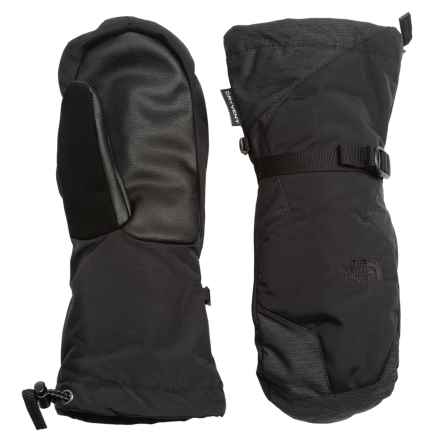 The North Face Montana Mittens - Waterproof, Insulated (For Women) in Tnf Black - Closeouts