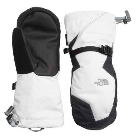 The North Face Montana Mittens - Waterproof, Insulated (For Women) in Tnf White/Tnf Black - Closeouts