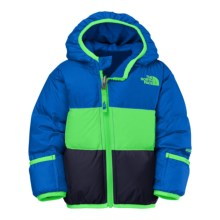 The North Face Moondoggy Down Jacket - Reversible, 550 Fill Power (For Infants) in Monster Blue - Closeouts