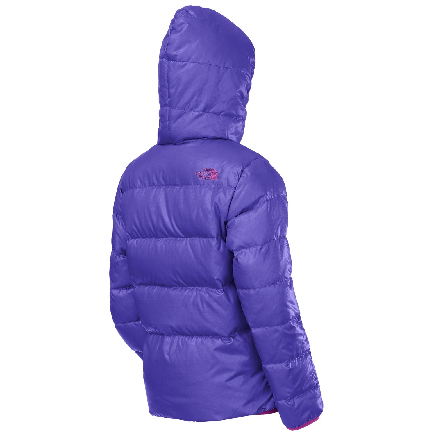28221d8ac226 ... new style the north face moondoggy down jacket reversible 550 fill  power for little and big