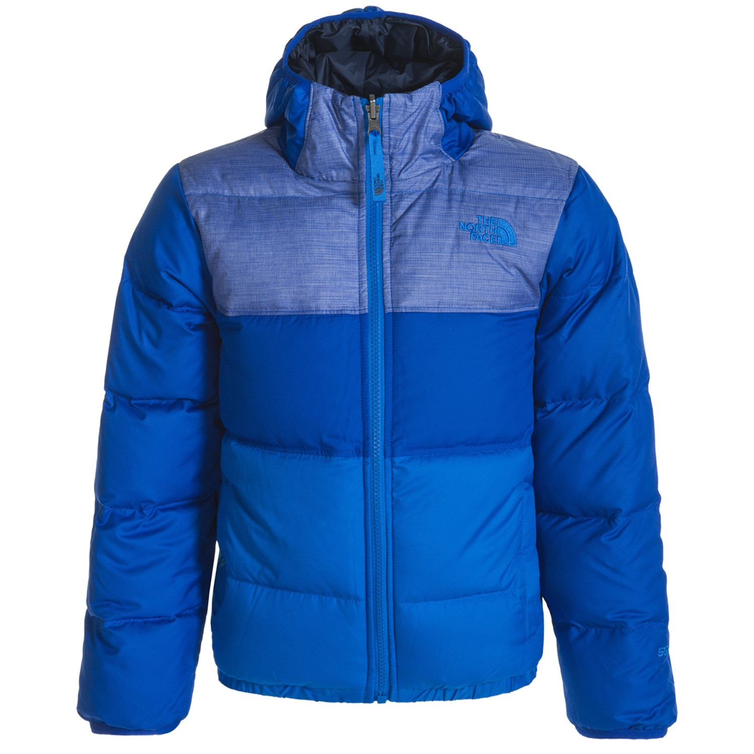 The North Face Moondoggy Hooded Down Jacket (For Little and Big Boys)