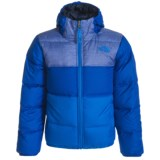 The North Face Moondoggy Hooded Down Jacket - Reversible, 550 Fill Power (For Little and Big Boys)