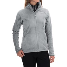 The North Face Morninglory 2 Fleece Jacket (For Women) in High Rise Grey - Closeouts