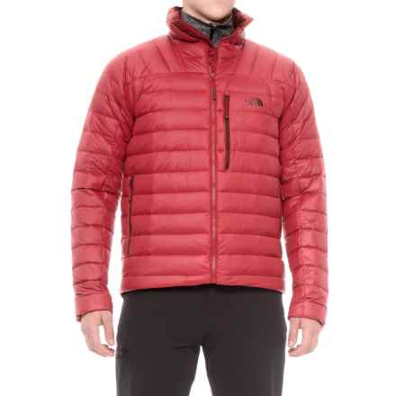 The North Face Morph Down Jacket - 800 Fill Power (For Men) in Cardinal Red - Closeouts