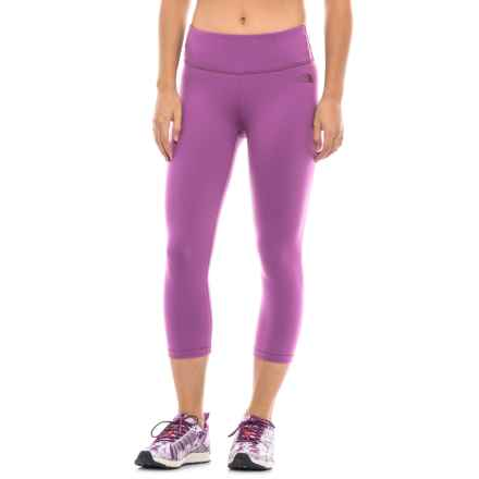 The North Face Motivation Capri Leggings (For Women) in Wood Violet - Closeouts