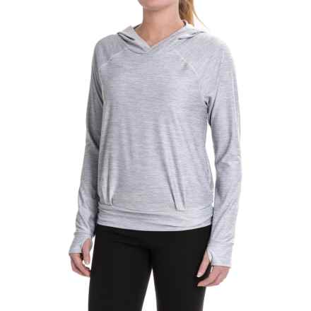 The North Face Motivation Classic Hoodie (For Women) in Tnf Light Grey Heather - Closeouts