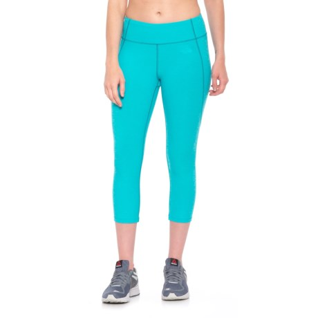 The North Face Motivation Crop Leggings (For Women) in Bluebird Heather