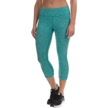 The North Face Motivation Crop Leggings (For Women) in Kokomo Green Heather - Closeouts