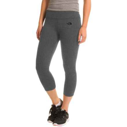 The North Face Motivation Crop Leggings (For Women) in Tnf Dark Grey Heather - Closeouts