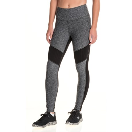 The North Face Motivation Mesh Leggings (For Women) in Tnf Dark Grey Heather