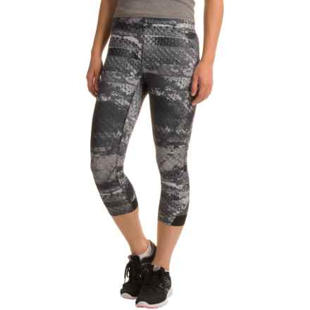 The North Face Motus Capris II (For Women) in Asphalt Grey Reptile Print - Closeouts