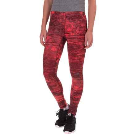 The North Face Motus II Tights (For Women) in Melon Red City Lights Print - Closeouts