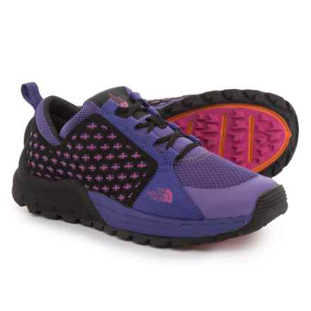 The North Face Mountain Sneaker Hiking Shoes (For Women) in Vigorous Violet/Rose Violet - Closeouts