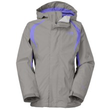 The North Face Mountain Triclimate® Jacket - 3-in-1 (For Little and Big Girls) in Metallic Silver - Closeouts