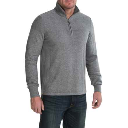 The North Face Mt. Tam Sweater - Zip Neck (For Men) in Zinc Grey Heather - Closeouts