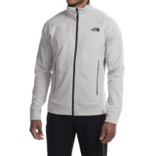 The North Face Nacio Fleece Jacket (For Men) in High Rise Grey - Closeouts
