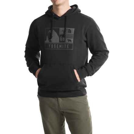 The North Face National Park Window Hoodie (For Men) in Tnf Black - Closeouts