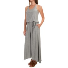 The North Face Nicolette Maxi Dress - Sleeveless (For Women) in Heather Grey - Closeouts