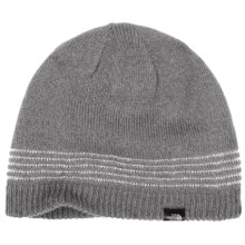 The North Face Night Light Reflective Beanie in Asphalt Grey - Closeouts