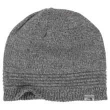 The North Face Night Light Reflective Beanie in Monument Grey - Closeouts