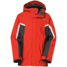 The North Face Nimbo TriClimate® 3-in-1 Jacket - Waterproof, Hooded (For Little and Big Boys) in Fiery Red - Closeouts