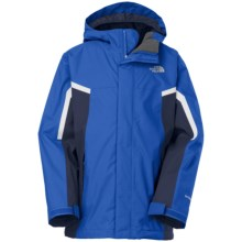 The North Face Nimbo TriClimate® 3-in-1 Jacket - Waterproof, Hooded (For Little and Big Boys) in Monster Blue - Closeouts