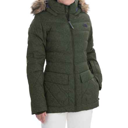 The North Face Nitchie Down Ski Jacket - 550 Fill Power (For Women) in Oscar Green - Closeouts