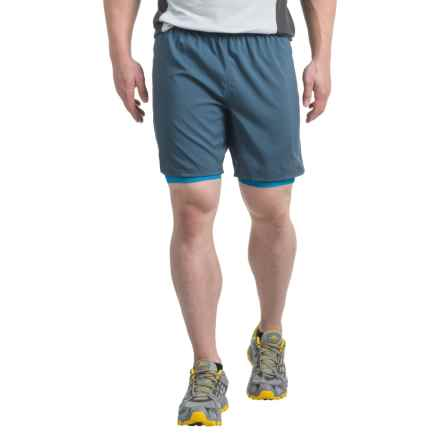 The North Face NNSR Dual Shorts (For Men) in Shady Blue/Hyper Blue - Closeouts