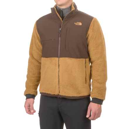 The North Face Novelty Denali Jacket (For Men) in Dijon Brown Sherpa/Coffee Bean Brown - Closeouts