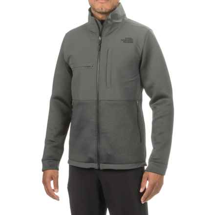 The North Face Novelty Denali Jacket (For Men) in Tnf Dark Grey Heather Scuba/Asphalt Grey - Closeouts