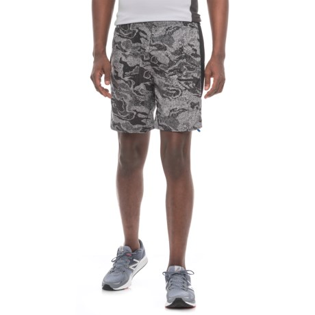 The North Face NSR Shorts - Built-In Briefs (For Men) in Asphalt Grey Reflective Print