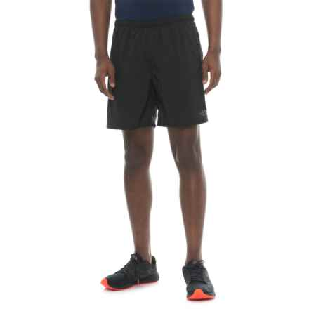 The North Face NSR Shorts - Built-In Briefs (For Men) in Tnf Black/Tnf Black - Closeouts