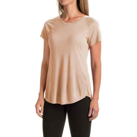 The North Face Nueva T-Shirt - Short Sleeve (For Women) in Moonlight Ivory Heather - Closeouts