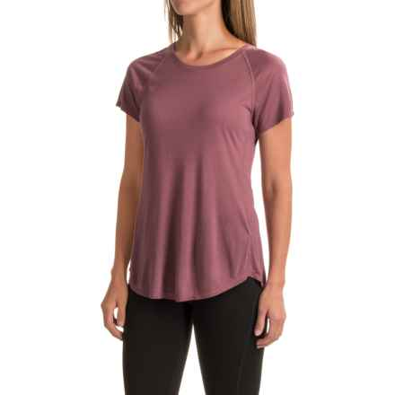 The North Face Nueva T-Shirt - Short Sleeve (For Women) in Renaissance Rose - Closeouts