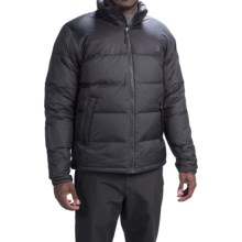 The North Face Nuptse Down Jacket - 700 Fill Power (For Men) in Asphalt Grey/Tnf Black - Closeouts
