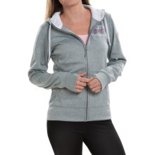 The North Face NYC Fave Hoodie (For Women) in Monument Grey Heather - Closeouts