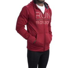 The North Face NYC Surgent Hoodie - Full Zip (For Men) in Biking Red - Closeouts