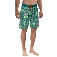 The North Face Olas Boardshorts - UPF 50 (For Men) in Deep Teal Blue/Deep Teal Blue - Closeouts