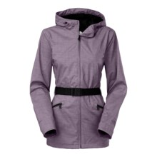 The North Face Ophelia Jacket - Waterproof (For Women) in Coastal Grey Melange - Closeouts