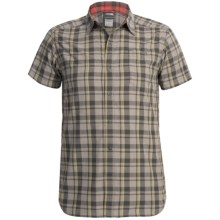 The North Face Orangahang Shirt - UPF 50, Short Sleeve (For Men) in Citronelle Green Plaid - Closeouts