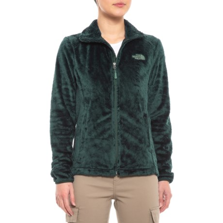 207ab2420ddf The North Face Osito 2 Fleece Jacket (For Women) in Evergreen