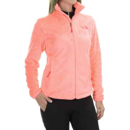 The North Face Osito 2 Fleece Jacket (For Women) in Freesia Orange - Closeouts