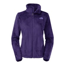 The North Face Osito 2 Fleece Jacket (For Women) in Garnet Purple - Closeouts